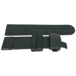 U-Strap 23mm Rubber black...