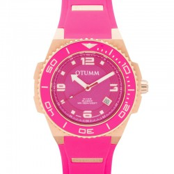 Otumm Diver Rose Gold 006 Pink 45mm