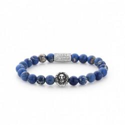 Rebel & Rose Lion Head bracelet Universe Blue Silver color