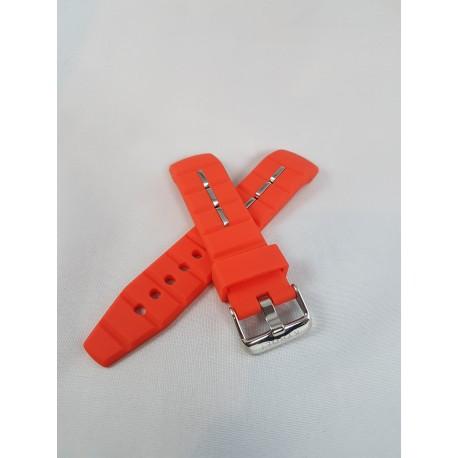 Kyboe watch strap orange 48mm