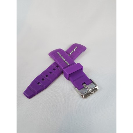 Kyboe watch strap neon purple 48mm