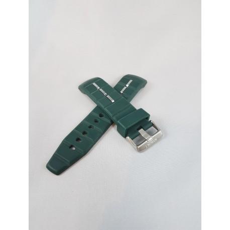 Kyboe watch strap dark green 48mm