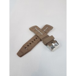 Kyboe watch strap brown 48mm