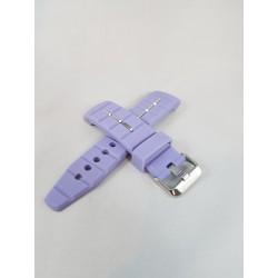 Kyboe horlogeband zacht paars 48mm
