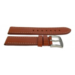 U-Boat strap 24mm brown buckle