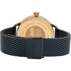 Welder Moody WRC607 38mm Rose Gold Case Mesh Jean Strap