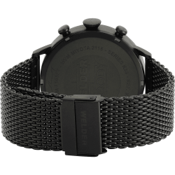 Welder Moody WWRC401 45mm Black Case Mesh Black Strap