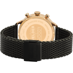 Welder Moody WWRC602 38mm Rose Gold Case Mesh Gun Strap