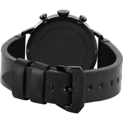 Welder Moody WWRC307 45mm Black Case Leather Black Strap