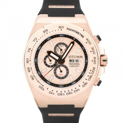 Otumm Day Date Rose Gold 02 Rose Gold Bezel 52mm