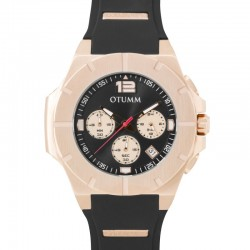 Otumm Speedster Rose Gold 001 Black 45mm