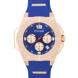 Otumm Speedster Rose Gold 003 Blue 45mm