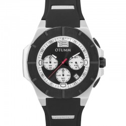 Otumm Speedster Steel Black Bezel 002 Black 45mm