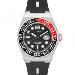 Otumm Scuba Steel Color 01 Black 45mm