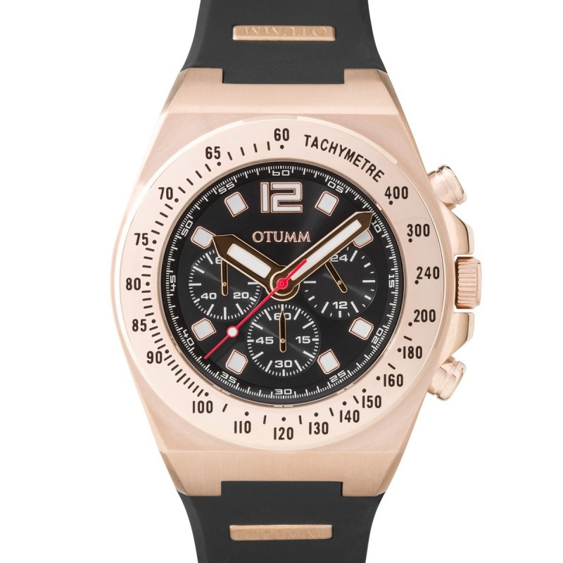 Otumm Athletics Chrono Rose Gold Dark 01 45mm