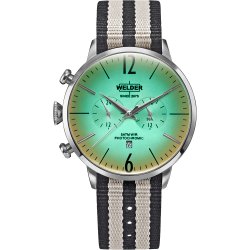 Welder Moody WWRC501 45mm Steel Case Nylon Beige Strap