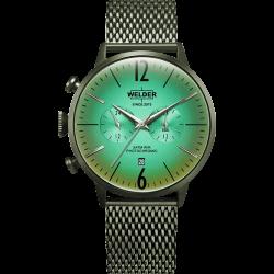 Welder Moody WWRC419 45mm Olive Case Mesh Olive Strap