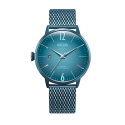 Welder Moody WRC413 45mm Ice Blue Case Mesh Ice Blue Strap