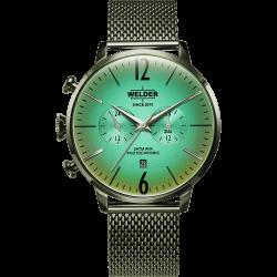 Welder Moody WWRC1011 47mm Olive Case Mesh Olive Strap
