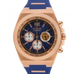 Otumm Big Date Rose Gold 45mm Color 01 Blue