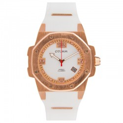 Otumm Classic Speed 41mm Rose Gold White