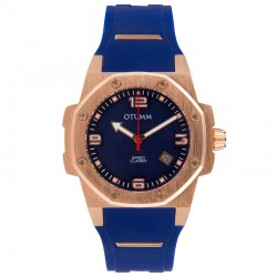 Otumm Classic Speed 41mm Rose Gold Blue
