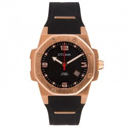 Otumm Classic Speed 41mm Rose Gold Black