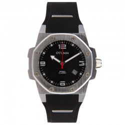 Otumm Classic Speed 41mm Steel Black