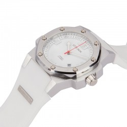 Otumm Classic Speed 41mm Steel White
