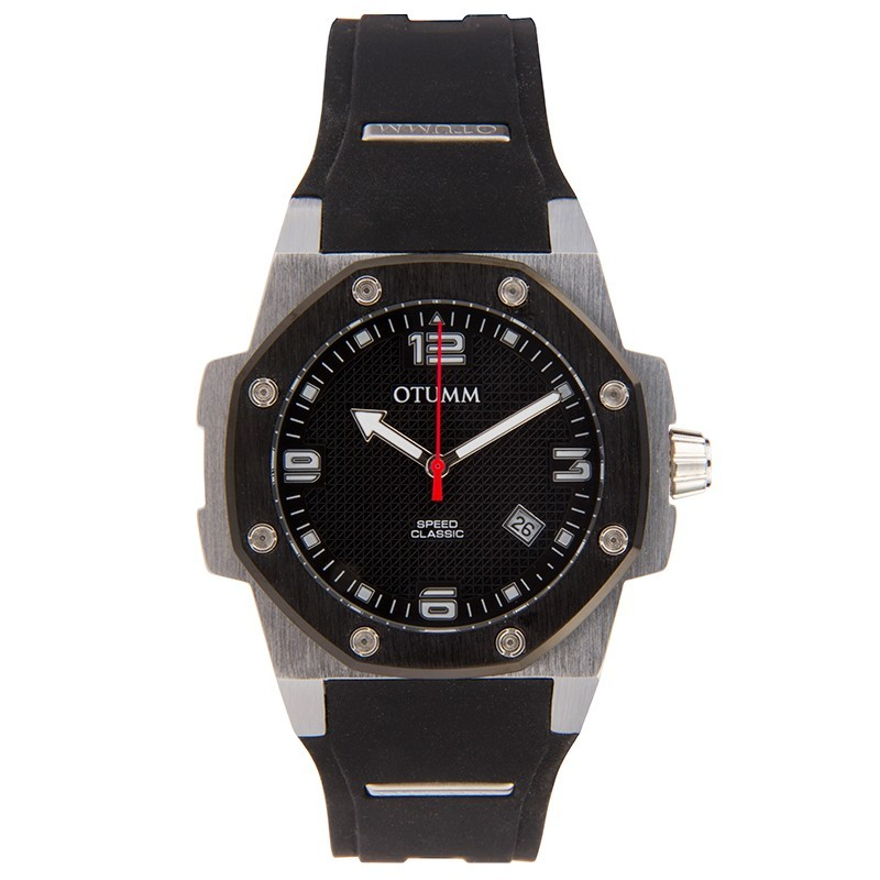 Otumm Classic Speed 41mm Steel Black Bezel/Black