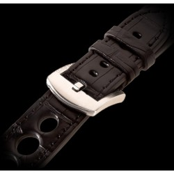 U-Boat 23mm Alligator black Steel U-Strap 1261