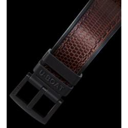 U-Boat 23mm Rubber with lizard inset IPB U-Strap 5238
