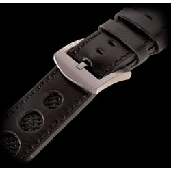 U-Boat 23mm Calf black Titanium U-Strap 5387