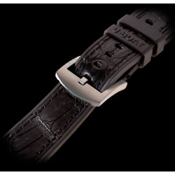 U-Boat 23mm Rubber with alligator inset Titanium U-Strap 5014