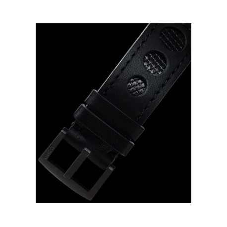 U-Boat 23mm Calf black lizard insert IPB U-Strap 5003