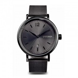 Otumm Mesh Man Black Calendar 43mm