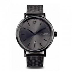 Otumm Mesh Man Black Calendar 43mm