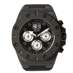 Otumm Carbon Fiber Chrono White Hand 52mm